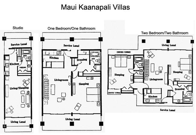 Maui Kaanapali Villas Beachfront Studio One And Two Bedroom Condos On Kaanapali Beach